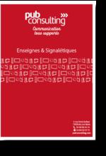 Enseigne et signalétique BLANC-Ombre