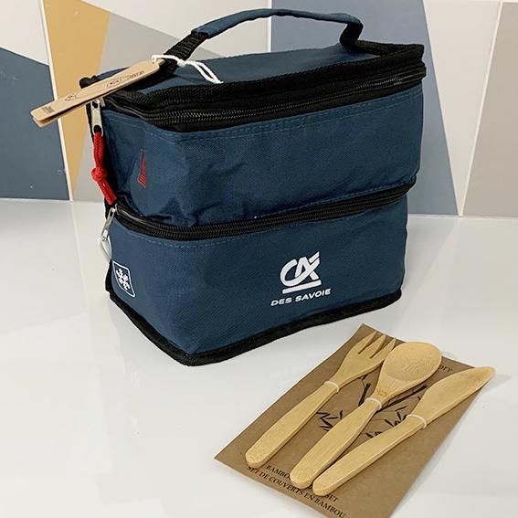 Lunch box isotherme éco-responsable CA des Savoie 73
