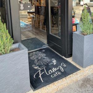 Tapis personnalisé Flamy's Morzine Haute-Savoie 74