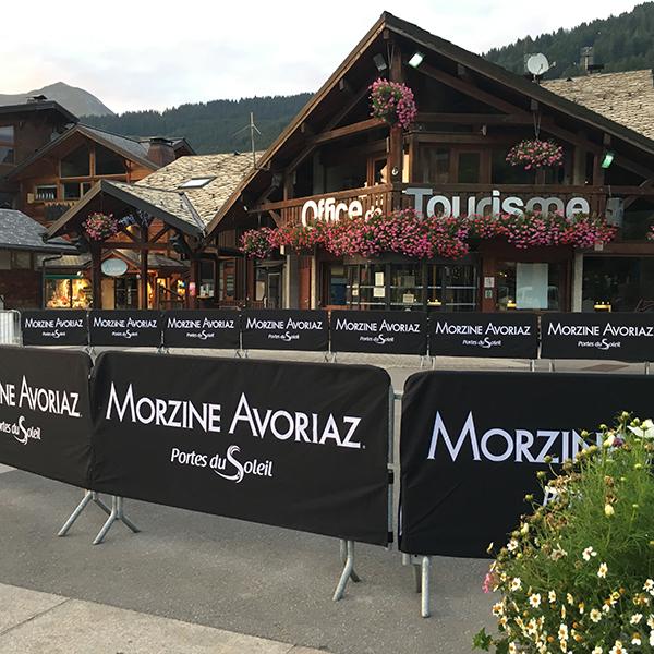 Housse Barrière vauban Morzine Haute Savoie 74