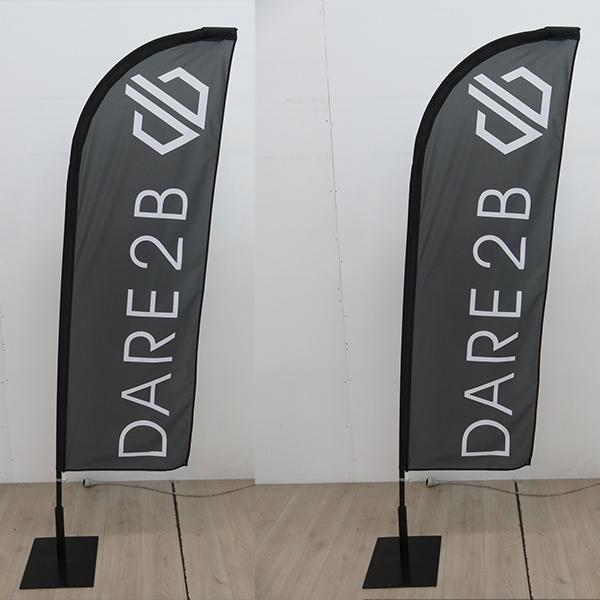 Oriflammes 230 cm Dare2B Annecy Haute-Savoie 74