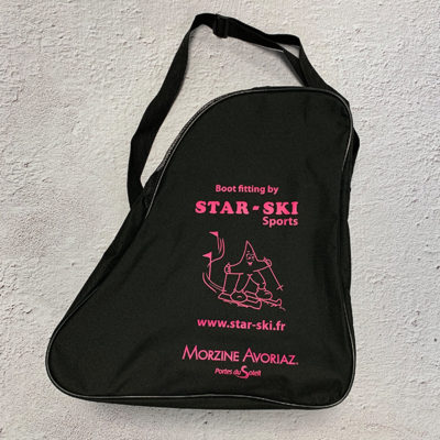 Sac à chaussures de ski personnalisé Morzine Haute Savoie 74